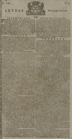 Leydse Courant 1740-04-06