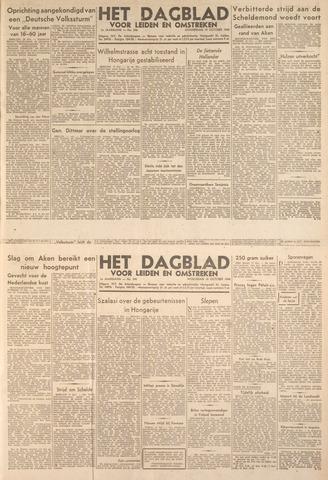 Dagblad voor Leiden en Omstreken 1944-10-19