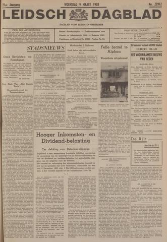 Leidsch Dagblad 1938-03-09