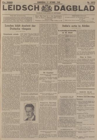 Leidsch Dagblad 1940-10-17
