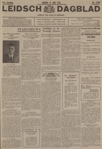 Leidsch Dagblad 1938-06-21