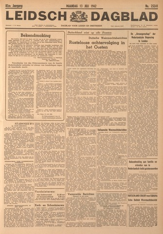 Leidsch Dagblad 1942-07-13