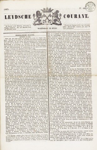 Leydse Courant 1865-07-12