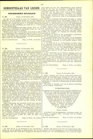 Handelingen van de Raad 1934-11-16