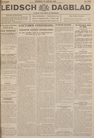 Leidsch Dagblad 1930-01-29