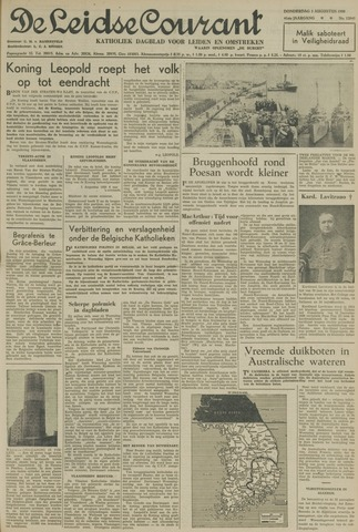 Leidse Courant 1950-08-03