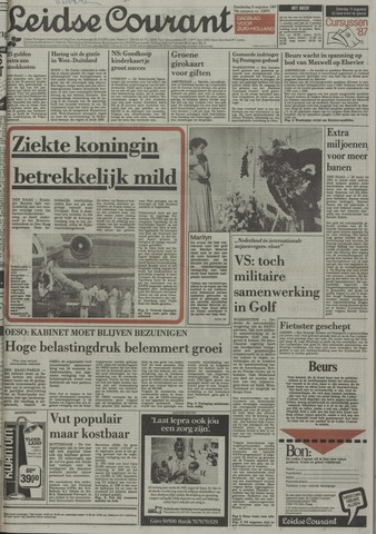 Leidse Courant 1987-08-06