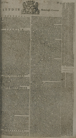 Leydse Courant 1744-07-27