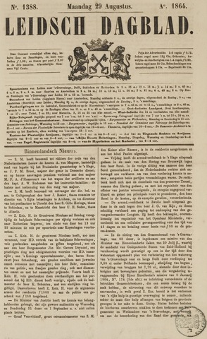 Leidsch Dagblad 1864-08-29