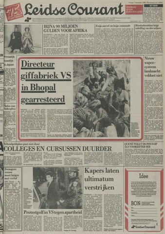 Leidse Courant 1984-12-07