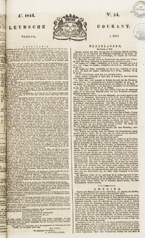 Leydse Courant 1844-05-03