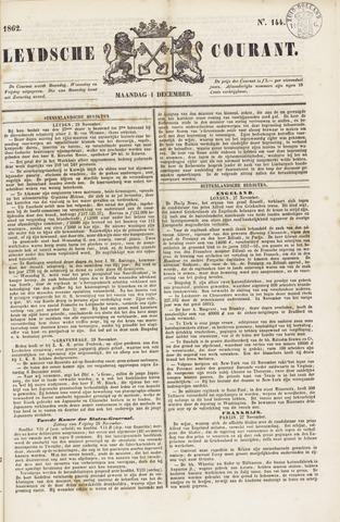 Leydse Courant 1862-12-01