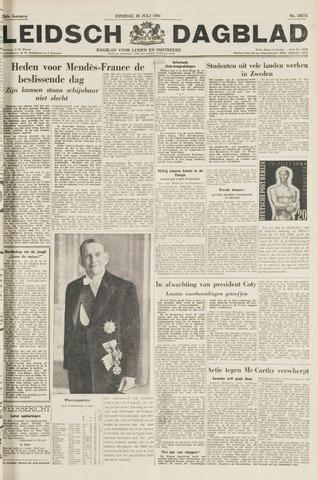 Leidsch Dagblad 1954-07-20