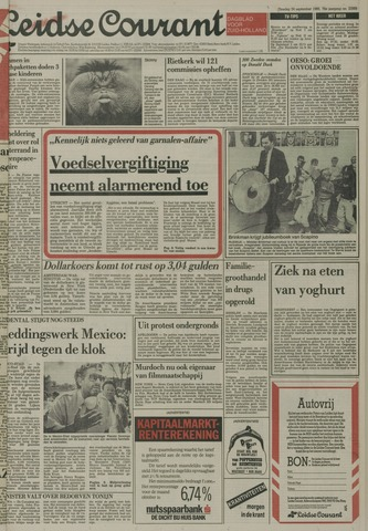 Leidse Courant 1985-09-24