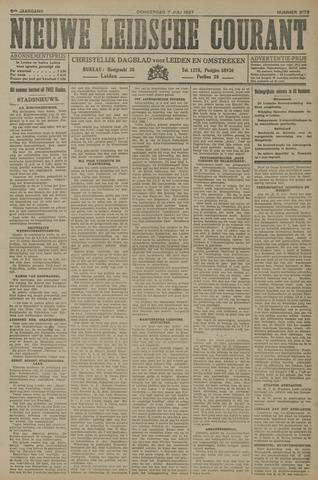 Nieuwe Leidsche Courant 1927-07-07