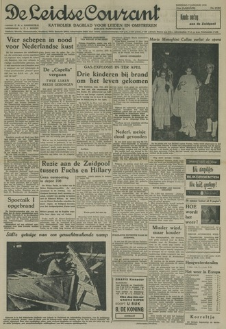 Leidse Courant 1958-01-07