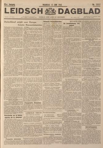 Leidsch Dagblad 1942-06-15