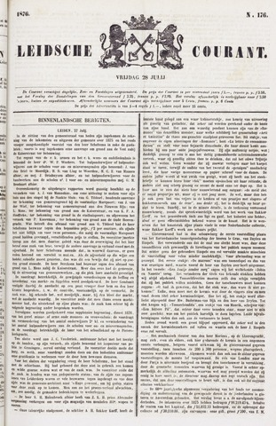 Leydse Courant 1876-07-28