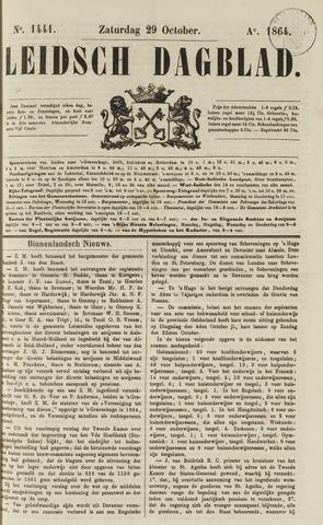 Leidsch Dagblad 1864-10-29