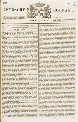 Leydse Courant 1860-08-06