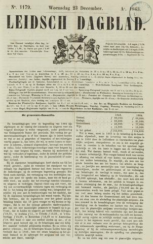 Leidsch Dagblad 1863-12-23