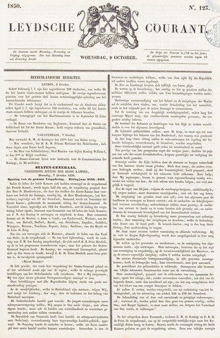 Leydse Courant 1850-10-09