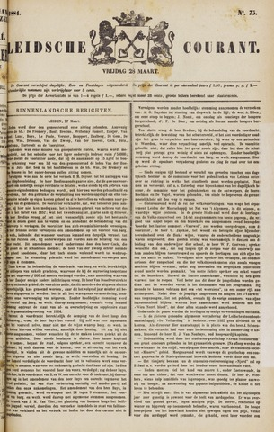 Leydse Courant 1884-03-28