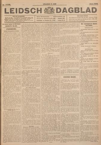 Leidsch Dagblad 1926-06-11