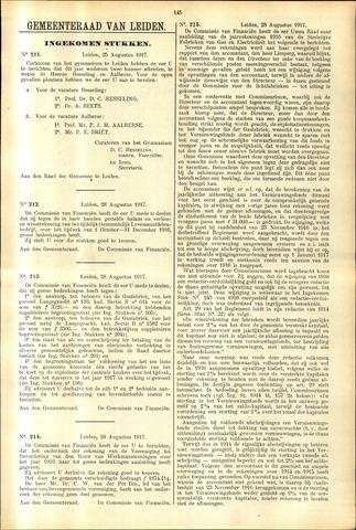 Handelingen van de Raad 1917-08-25