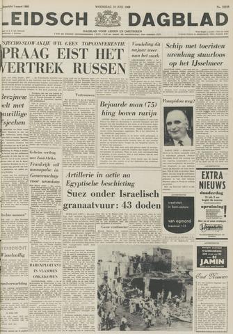 Leidsch Dagblad 1968-07-10