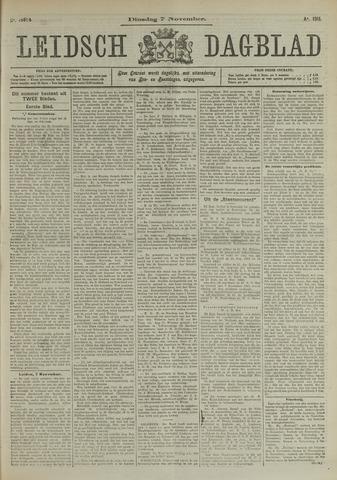 Leidsch Dagblad 1911-11-07
