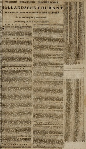 Leydse Courant 1795-11-13