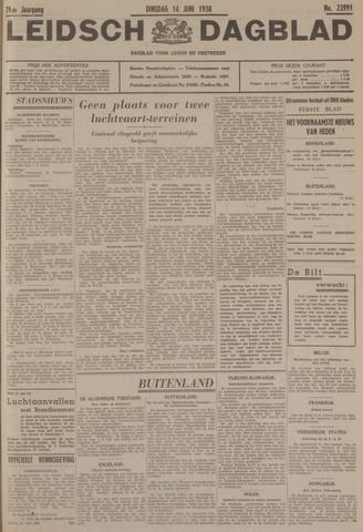 Leidsch Dagblad 1938-06-14