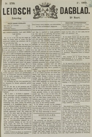 Leidsch Dagblad 1869-03-20