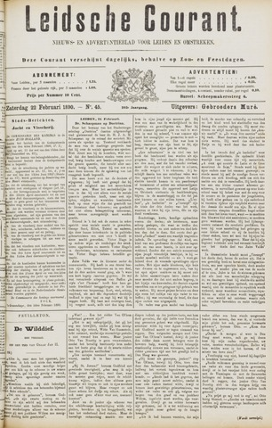 Leydse Courant 1890-02-22