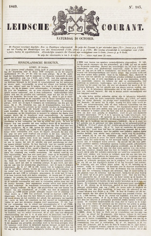 Leydse Courant 1869-10-30
