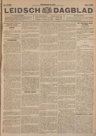 Leidsch Dagblad 1926-07-21