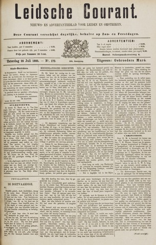 Leydse Courant 1885-07-25