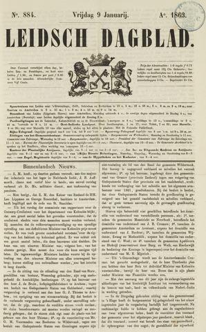 Leidsch Dagblad 1863-01-09