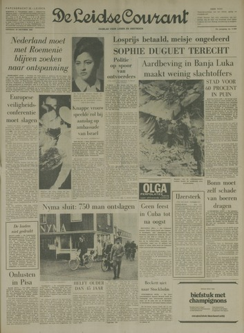 Leidse Courant 1969-10-28