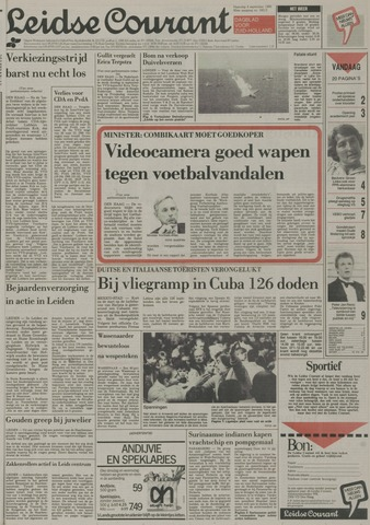 Leidse Courant 1989-09-04