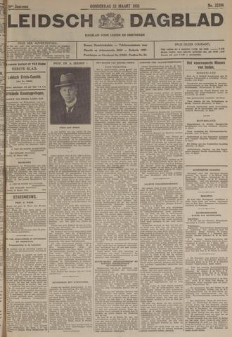 Leidsch Dagblad 1933-03-23