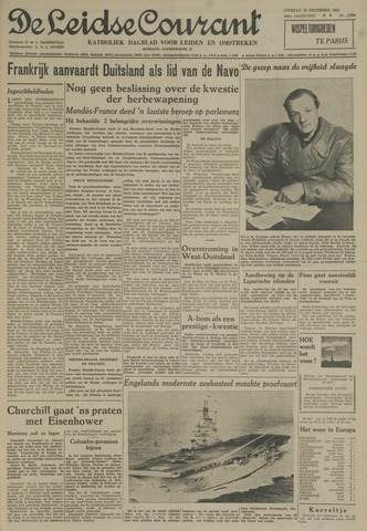 Leidse Courant 1954-12-28