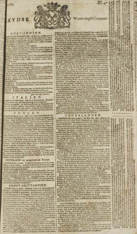 Leydse Courant 1769-04-19