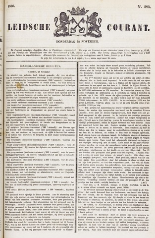 Leydse Courant 1876-11-30