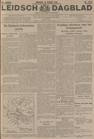 Leidsch Dagblad 1940-10-30
