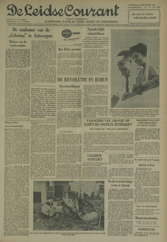 Leidse Courant 1962-09-29