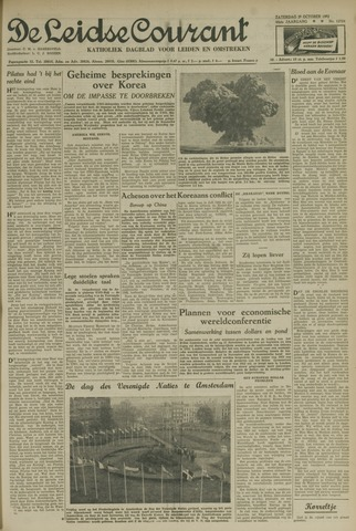 Leidse Courant 1952-10-25