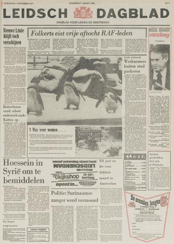 Leidsch Dagblad 1977-12-07