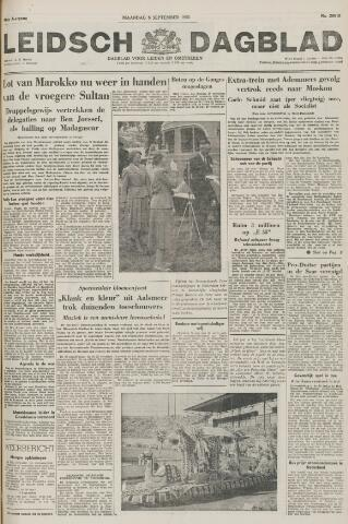 Leidsch Dagblad 1955-09-05
